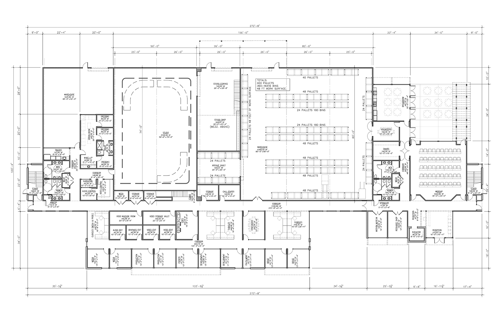 First Floor Building Plans